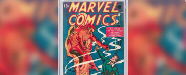 Marvel Comics Number One cover