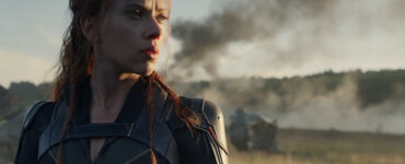 Still frame of Scarlett Johansson as Black Widow