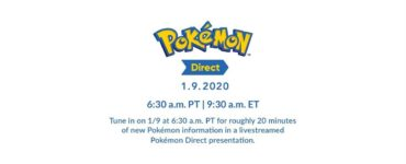Pokemon Direct splash page